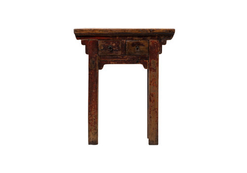 Fine Asianliving Antique Chinese Plant Stand W73xD41xH84cm