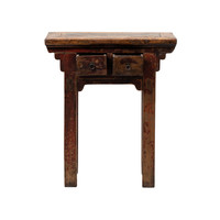 Antieke Chinese Plantentafel B73xD41xH84cm