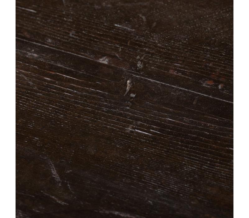 Antiker Tibetanischer Schrank Handgeschnitzte Drachen B108xT51xH119cm
