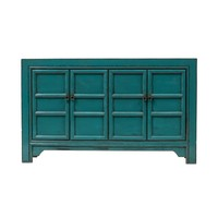 Chinese Sideboard Glossy Blue W150xD40xH89cm