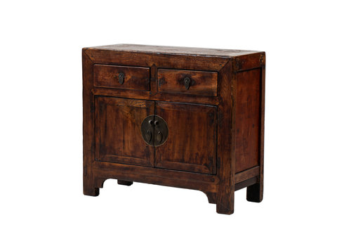 Fine Asianliving PREORDER 28/12/2020 Antique Chinese Cabinet Brown W94xD40xH84cm