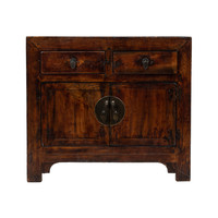 PREORDER 28/12/2020 Antique Chinese Cabinet Brown W94xD40xH84cm