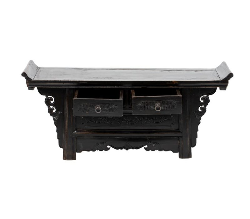 PREORDER 28/12/2020 Antique Chinese Cabinet W113xD39xH50cm Handcarved