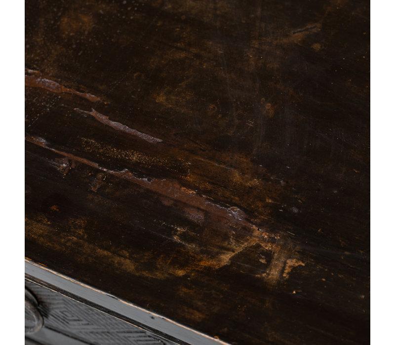 Antiker Chinesischer Schrank Handgeschnitzt B113xT39xH50cm