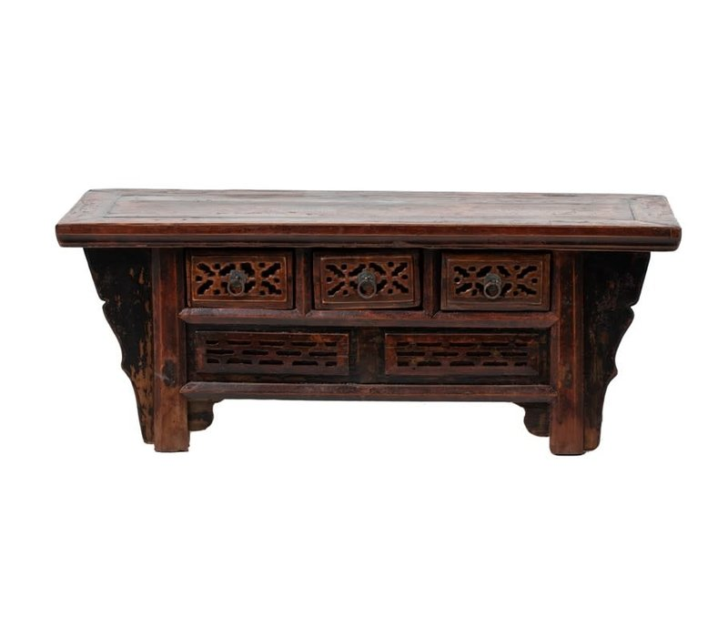 PREORDER 28/12/2020 Antique Chinese Cabinet W101xD37xH38cm
