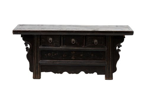 Fine Asianliving PREORDER 28/12/2020 Antique Chinese Cabinet W109xD40xH45cm Handcarved