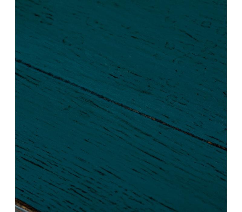 Antieke Chinese Kastje Glanzend Blauw B94xD44xH86cm