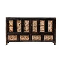 Antique Chinese Sideboard Hand-painted W157xD39xH86cm