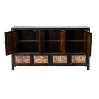 Antique Chinese Sideboard Handpainted W157xD39xH86cm