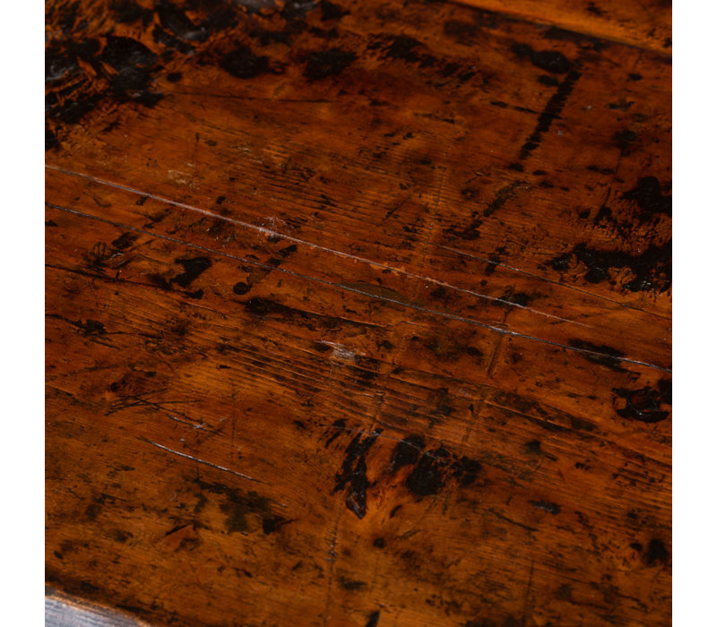 Buffet Chinois Antique Fleurs Peintes à la Main L160xP45xH87cm