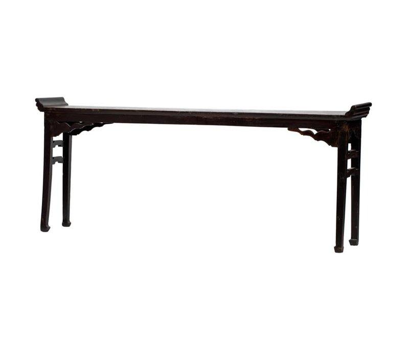 Table d'Autel Console Chinoise Antique L237xP35xH96cm