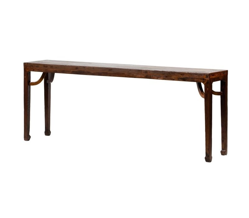 PREORDER 28/12/2020 Antique Chinese Altar Table W214xD43xH85cm