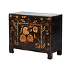 Fine Asianliving PREORDER 28/12/2020 Antique Chinese Cabinet Handpainted Peonies W83xD38xH72cm