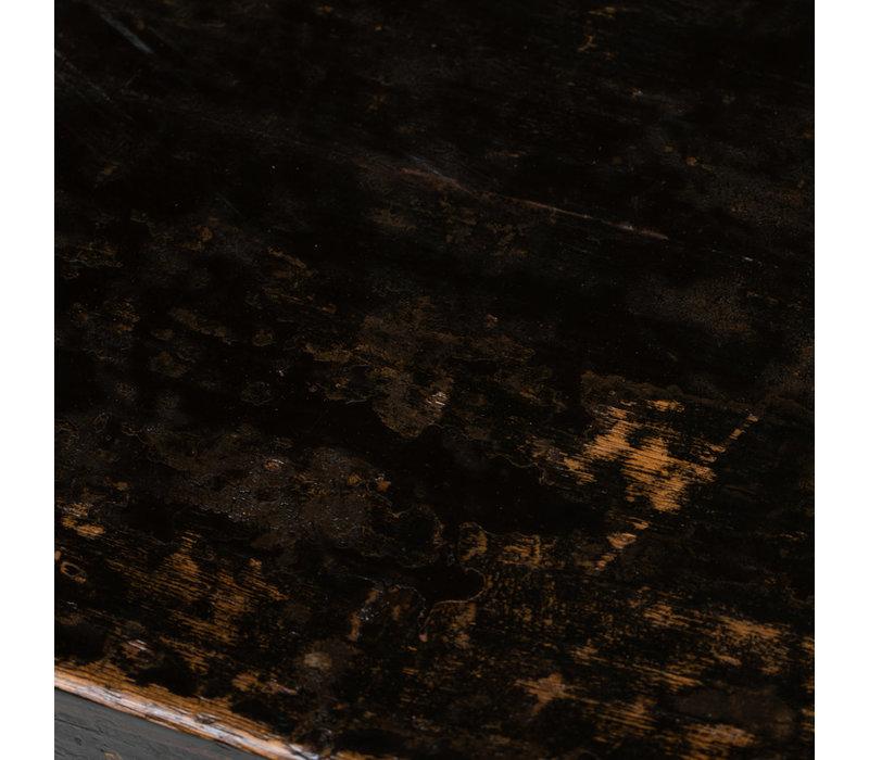 Armadio Cinese Antico Fiori Dipinti a Mano L87xP39xA69cm
