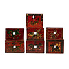 Fine Asianliving PREORDER 28/12/2020 Antique Chinese Box Handpainted