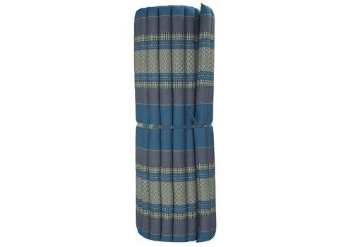 Fine Asianliving Thai Mat Rollable Matress 200x100x4.5cm Sky Blue