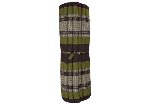Fine Asianliving Thaise Mat Oprolbaar Matras 200x100x4.5cm Groen