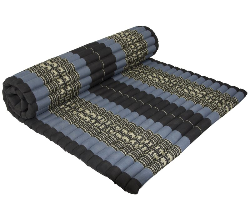 Thai Mat Rollable Matress 200x100x4.5cm Black