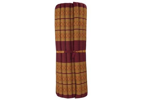 Fine Asianliving Thai Mat Rollable Mattress 200x100x4.5cm Orange