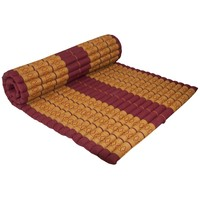 Thai Mat Rollable Mattress 200x100x4.5cm Orange