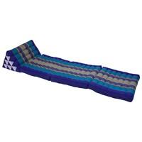 Thais Kussen Meditatie Driehoek Vloer Ligmat Yoga Uitklapbaar Ocean Blauw