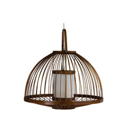 Fine Asianliving Ceiling Light Bamboo Lampshade Handmade - Mabel