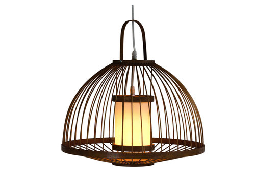 Fine Asianliving Bamboo Light Pendant Lampshade Handmade - Mabel