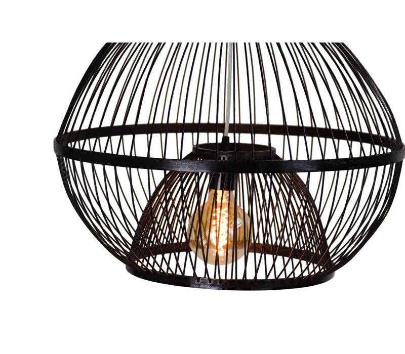 Plafonnier Luminaire Suspendu Bambou Abat-Jour Fait Main - Lucas