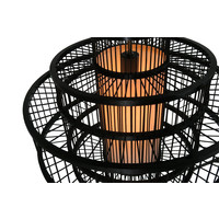 Plafonnier Luminaire Suspendu Bambou Abat-Jour Fait Main - Leonard