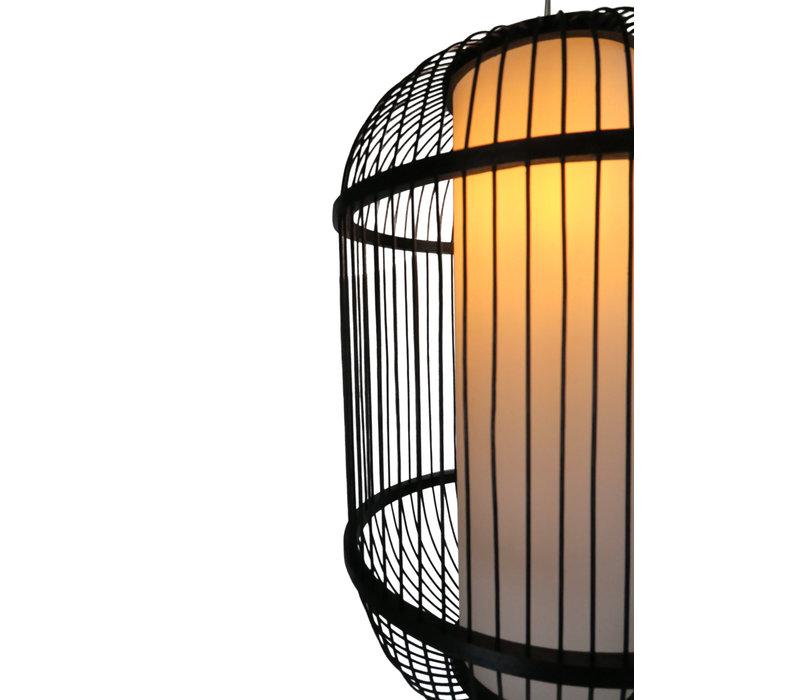 Bamboe Hanglamp Zwart Handgemaakt - Dylan