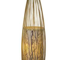 Chinesische Stehlampe Bambus Handgefertigt - Demi