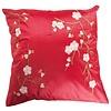 Fine Asianliving Chinese Kussen Sakura Kersenbloesems Rood 40x40cm