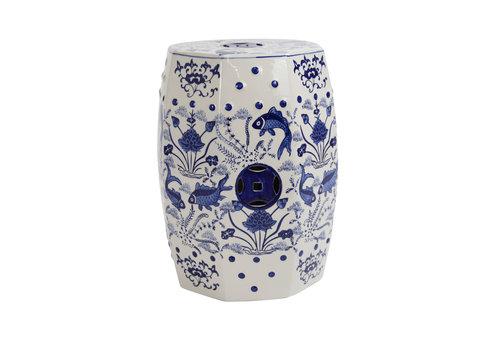 Fine Asianliving Tabouret en Porcelaine Céramique Chinois A-292