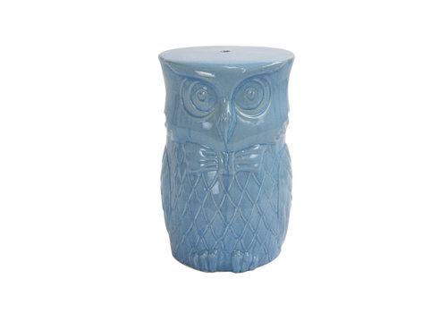Fine Asianliving Tabouret en Céramique Chinois Porcelaine Fait Main D33xH46cm