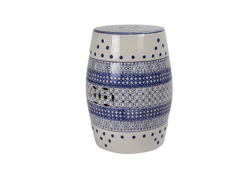 Fine Asianliving Ceramic Garden Stool Porcelain B-066