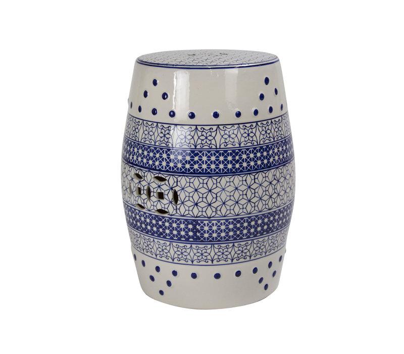 Fine Asianliving Ceramic Garden Stool Porcelain B-066
