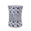 Fine Asianliving Fine Asianliving Ceramic Garden Stool Porcelain A-335B