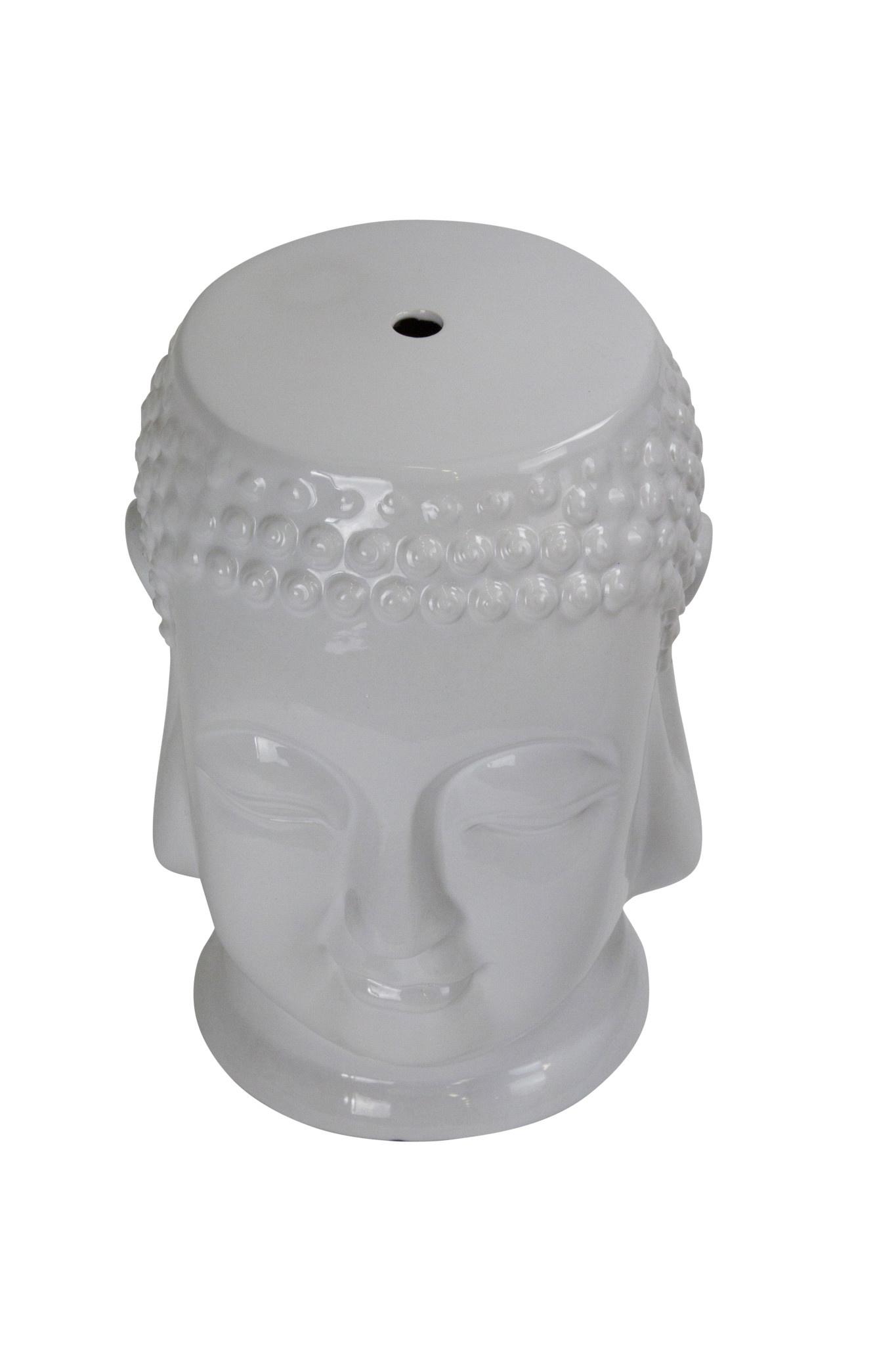 Ceramic Garden Stool D33xh46cm Porcelain Handmade Orientique Asianliving