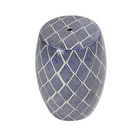 Sgabello in Ceramica Cinese Fatto a Mano D33xA46cm B-086