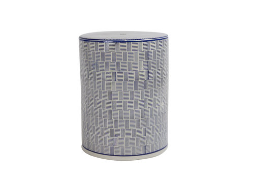 Fine Asianliving Tabouret en Porcelaine Céramique Chinois Fait Main Diam33xH46cm B-072