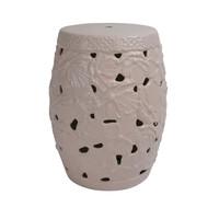 Sgabello in Ceramica Cinese Fatto a Mano D33xA46cm A-383