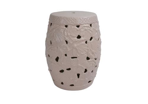 Fine Asianliving Ceramic Garden Stool D33xH46cm Porcelain Handmade A-382