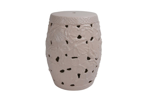 Fine Asianliving Sgabello in Ceramica Cinese Fatto a Mano D33xA46cm A-382