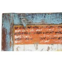 Houten Indische Kast 75x36x187cm Handgemaakt in India