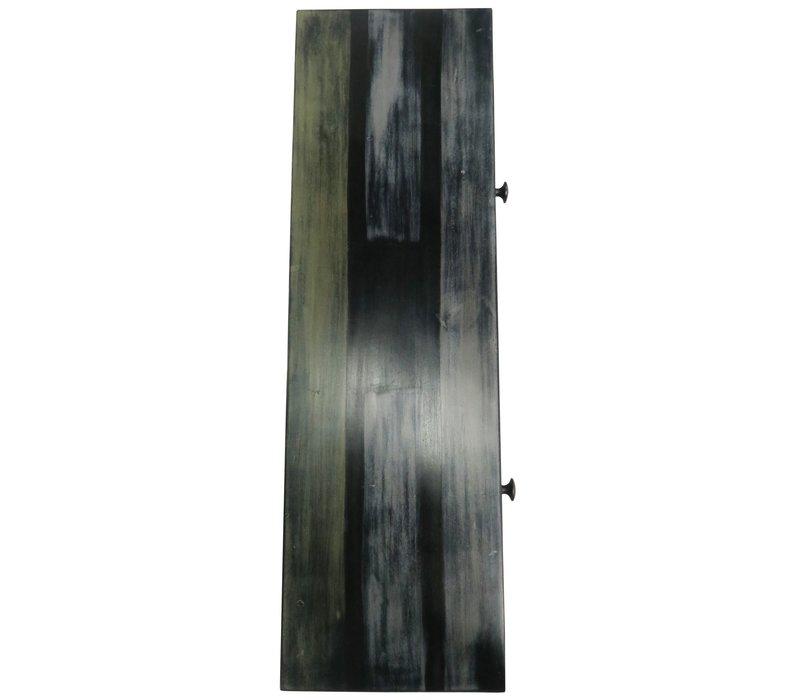 Indisches Sideboard Kommode Holz Handgefertigt in Indien B102xT31xH73cm