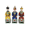 Fine Asianliving Chinese Keizers Porselein Kleur Set/3 Zittend
