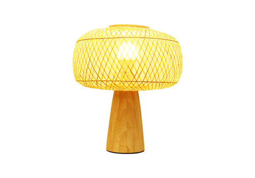 Fine Asianliving Bamboo Table Lamp - Hazel D28xH33cm