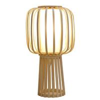 Bamboe Tafellamp Handgemaakt - Aimee D32xH60cm