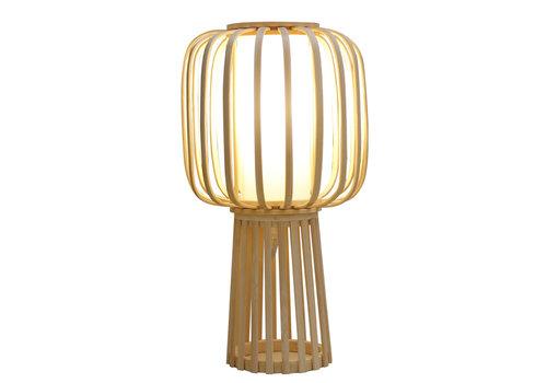Fine Asianliving Tischlampe Bambus Handgefertigt - Aimee D32xH60cm