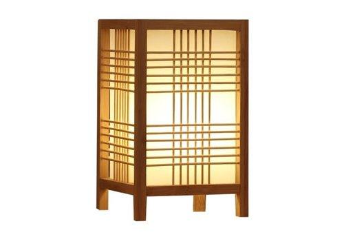 Fine Asianliving Japanse Tafellamp Natural - Hokkaido B15xD15xH25cm